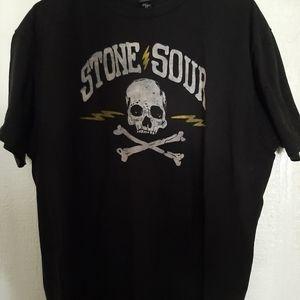 Stone Sour Tour 2018 Black size XL skulls bones